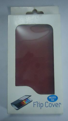 Motorola Moto G2 Stylish Flip Cover Maroon Colour