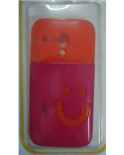 Motorola Moto G Smiley Back Cover Pink With Orange