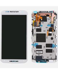 Motorola Moto X2 LCD Display With Touch Screen Digitizer Glass White