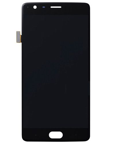 OnePlus 3 Lcd Display with Touch Screen Black Color