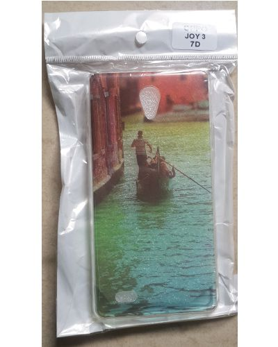 Oppo Joy 3 Man In Boat Printed Back Cover