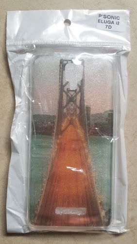 Panasonic Eluga I2 Beautiful Horizontal Bridge Back Cover