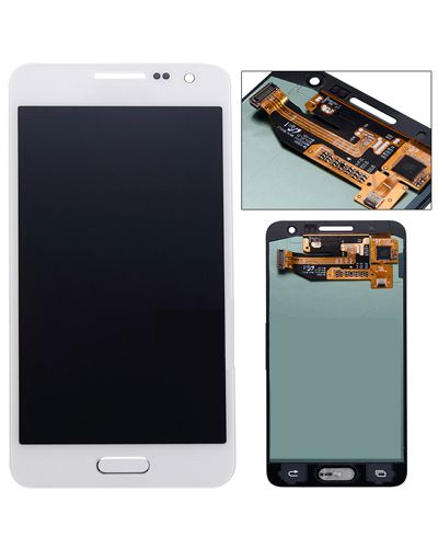 Samsung A3 LCD Display with Touch Screen White