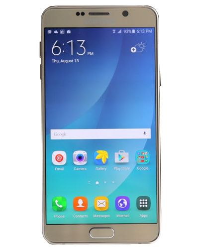 Samsung Galaxy A7100 LCD Display with Touch Screen Gold