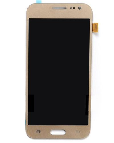 Samsung J2 Lcd Display with Touch Screen Gold Color
