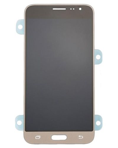 Samsung Galaxy J3 2016 Lcd Display with Touch Screen Gold Color