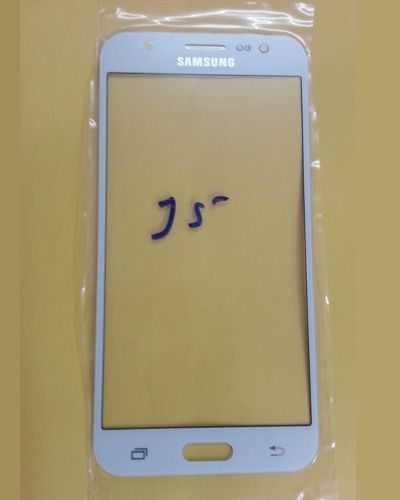 Samsung Galaxy J5 Front Glass White
