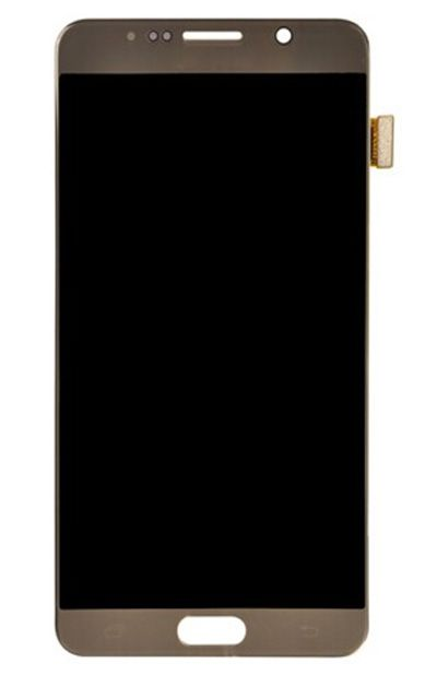 Samsung Galaxy N920T LCD Display with Touch Screen Gold Color
