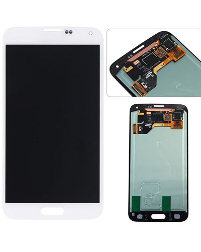 Samsung galaxy S5 I9600 lcd G900F/G900H LCD Display with Touch Screen White