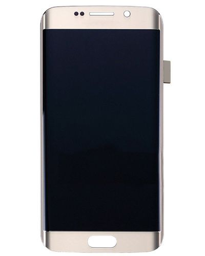 Samsung Galaxy S6 Edge LCD Display with Touch Screen Glass - Golden