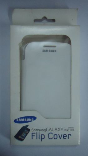 Samsung Galaxy Star Pro S7262 Stylish Flip Cover White