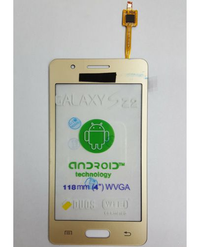 Samsung Z2 Touch Screen Gold color