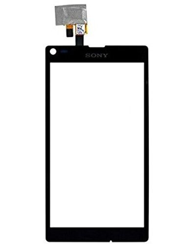 Sony Xperia C2105 Touch Screen Glass Panel Black color