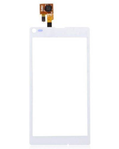 Sony Xperia S36 Touch Screen Glass Panel White color