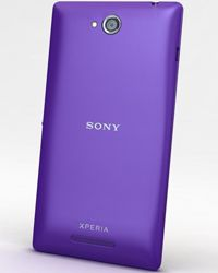 Sony Xperia C3 Full Body Housing Blue