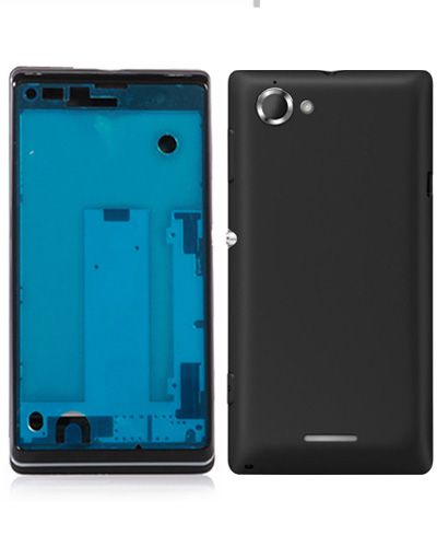 Sony Xperia C2104 Full Body Housing Black Color