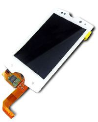 Sony Xperia Mini Pro sk17i LCD Display with Touch Screen Glass White