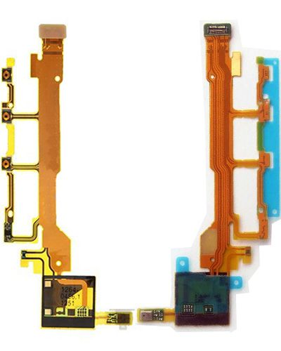 Sony Xperia C6603 Power Volume Button+Mic Flex Cable
