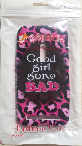 Asus Zenfone 2 Laser 5.5 Good Girl Gone Bad Back Case Cover Black With Pink