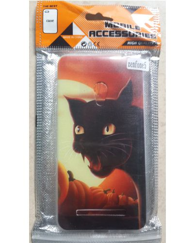 Asus Zenfone 5 Black Cat Back Case Cover