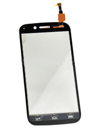 Touch Screen for Micromax A210 Black